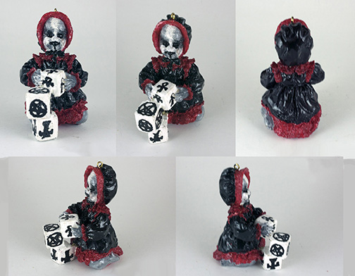 Dead Baby Ornament 6