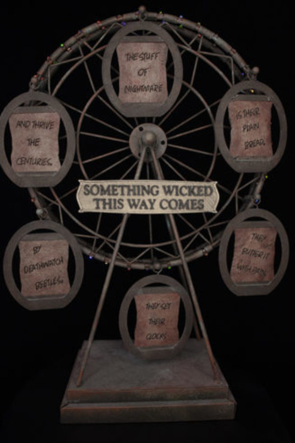 #1  -  Rusted Ferris Wheel - Ray Bradbury's Something Wicked This Way Comes